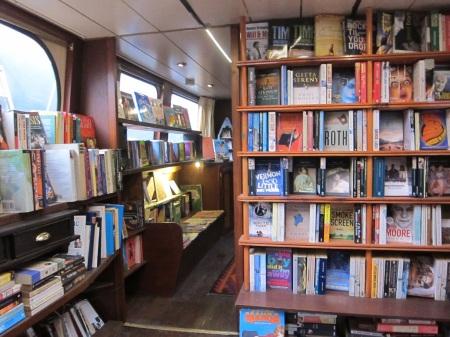 houseboat book shop London 3